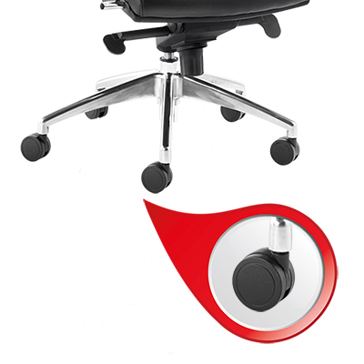 drehstuhl myergostar r ckenfarbe rot sitzfarbe schwarz. Black Bedroom Furniture Sets. Home Design Ideas